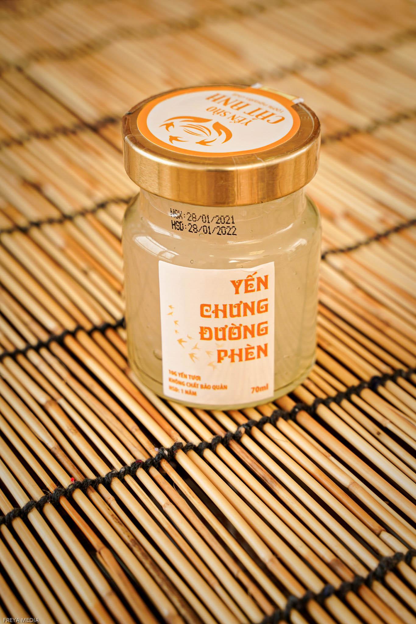 Yến hủ đường phèn chất lượng từ Cát Anh